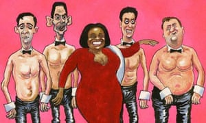 Steve Bell cartoon labour leadership candidates