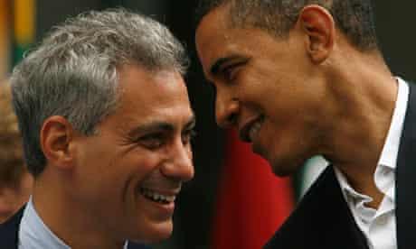 Barack Obama with Rahm Emanuel