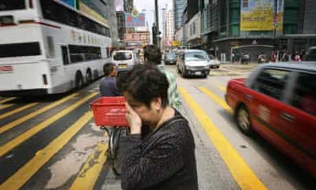 Hong Kong roadside air pollution