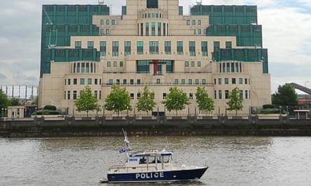 The headquarters of MI6 in London
