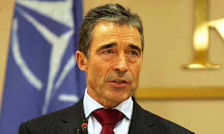 Anders Fogh Rasmussen in libya