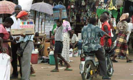 Plaza Combatentes market in Maputo