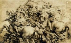 After The Battle of Anghiari by Leonardo da Vinci