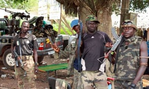 Pro-Ouattara forces in Blolequin