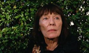Writer Beryl Bainbridge at home