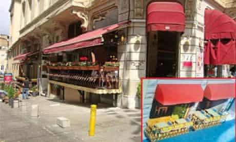 Istanbul restaurant balcony