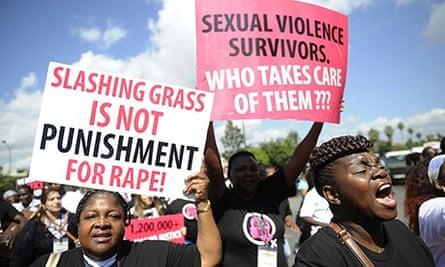 Kenya protesters Liz rape case