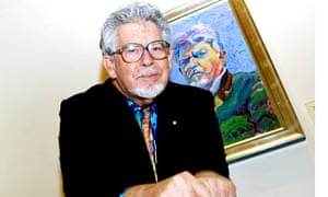 Rolf Harris at the National Gallery