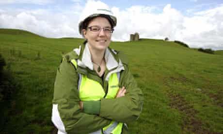 Archaeologist Deirdre Gleeson