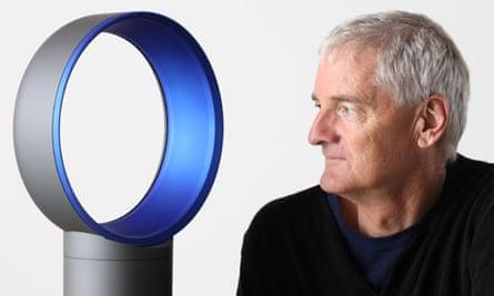 The Dyson Air Multiplier fan  and Sir James Dyson