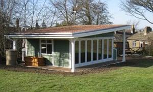 Shepley First School's eco classroom