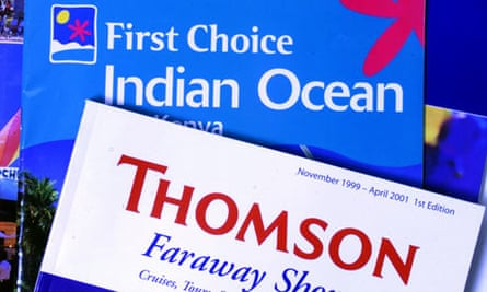 thomson holidays first choice