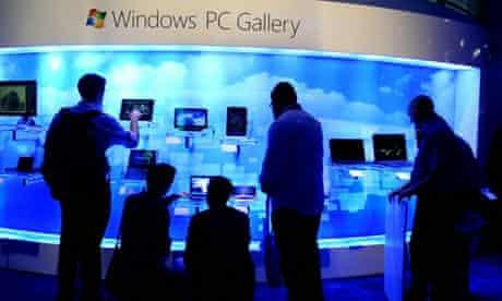 Consumer Electronics Show 2011 Microsoft