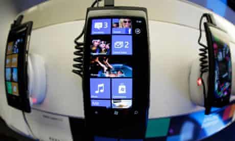 Nokia Lumia 800 smartphones