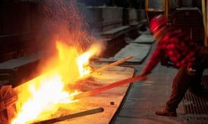 Alcan aluminium smelter