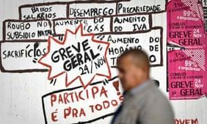 Portuguese general strike