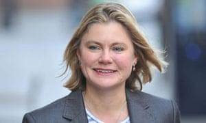 Justine Greening, transport secretary