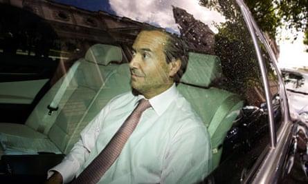 U.K. Chancellor Meets Top Banking Officials