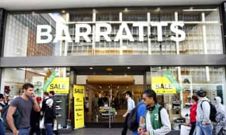 Barratts shoes stores