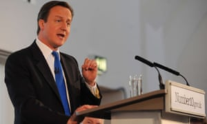 David Cameron big society pledge