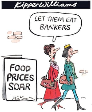 Food prices hit record high kipper williams