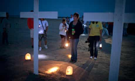 Deepwater horizon workers remembered one year after disaster