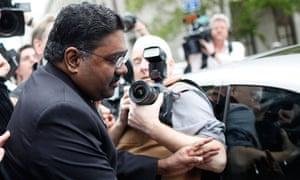 Galleon hedge fund founder Raj Rajaratnam
