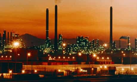 Saudi Arabia oil refinery