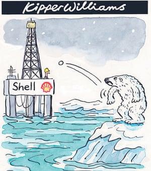 Shell oil drilling Alaska kipper williams