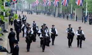 Royal wedding security