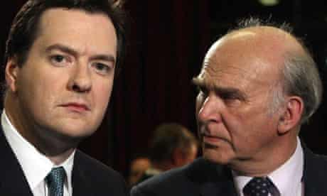 George Osborne and Vince Cable