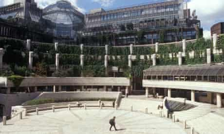 Broadgate Circus in the City