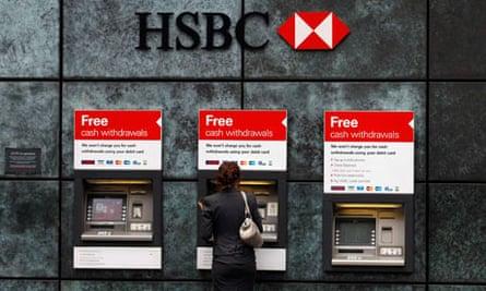 HSBC first half profits