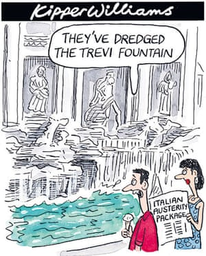 Market turmoil cartoon by Kipper Williams