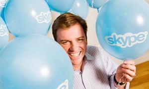 Skype chief executive Tony Bates