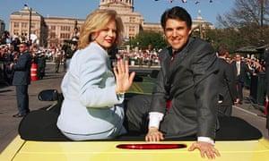 Rick and Anita Perry at 2003 Inauguration
