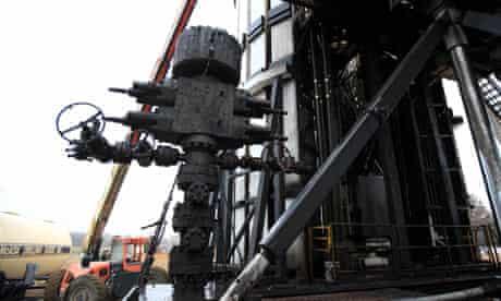 Natural gas drilling rig