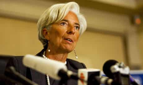 IMF boss Christine Lagarde