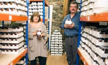 Mark and Maria Whitehead of Hawkshead Relish Company