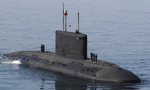 Iranian submarine