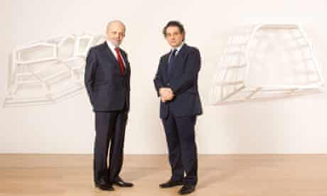 Gilbert Lloyds and Andrew Renton at Marlborough Contemporary