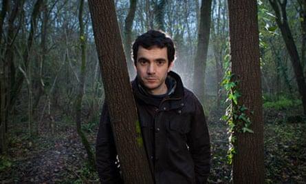 Tobias Jones, warden of Windsor Hill Wood