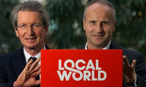 Local World launch: David Mongomery and Steve Auckland