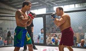 Romulo Barral and Kevin James in Here Comes the Boom