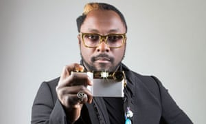Will.i.am with his i.am camera for iPhone