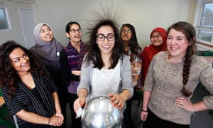 Why Dont More Girls Study Physics Education The Guardian