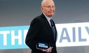 Rupert Murdoch launches the Daily