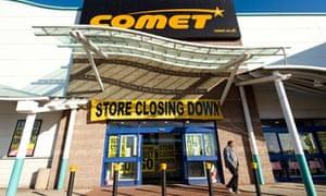 Comet store exterior