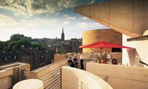 Tower restaurant, Edinburgh