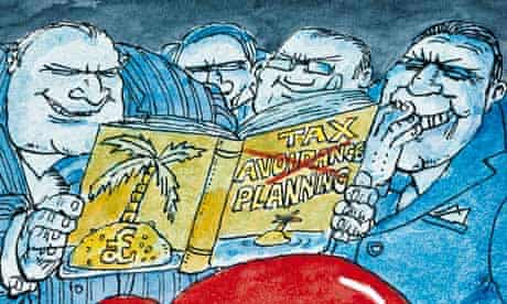 Dave Simonds cartoon on corporate taxation